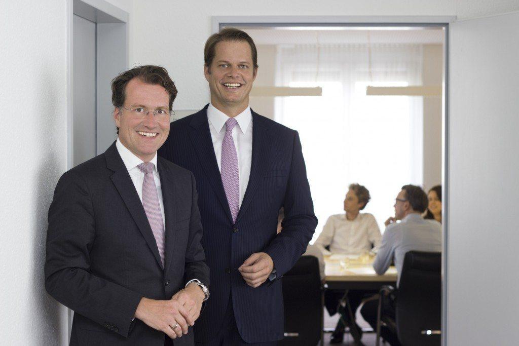Harald Popp and Dirk Martin