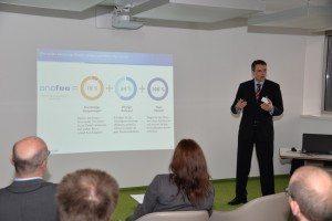 Bernd Worlitzer, Vorstand Catenic AG, (PMCS.helpLine) referiert über anafee.