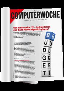 Computerwoche Zeitschrift über Budget